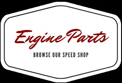 Engine parts sign